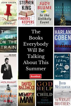 Whether it's coming out in hard cover or the big screen, check out these books and join the conversation! Summer Books, Summer Reading Lists, Beach Reading, I Love Books, Books To Read, My Books, This Is Your Life, Book People, Reading Rainbow