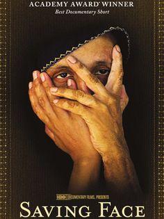 Movie poster for Saving Face, the 2012 Academy Award-winning Best Documentary (short subject).