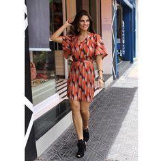 Sunny day com vestido de print exclusivo. #corre #vaiacabar #Verão2016 #SS16 #LZKlub #lançamentoLZKlub