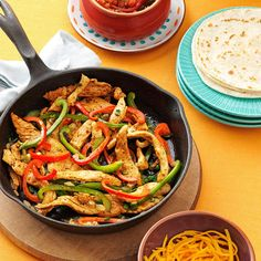 Flavorful Chicken Fajitas Recipe -The marinated chicken in these popular wraps is mouthwatering. They go together in a snap and always get raves! —Julie Sterchi, Jackson, Missouri