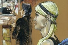 Lindsay Lohan courtroom sketch - but can you identify the other celebrities in court? - 3am & Mirror Online