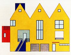 Arquitectonica, Magaziner House, Elevation, Coral Gables,...  #architecture #drawing Pinned by www.modlar.com