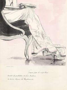 Ilustración de Mourgue para Clazado de Greco Diego. 1937
