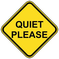 printable quiet please sign pdf free download for signboards other