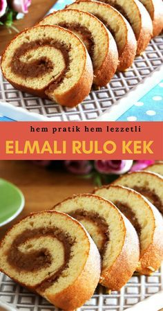 Elmalı Rulo Kek Apple Roll Cake the the Brownie Recipes, Cake Recipes, Dessert Recipes, Pumpkin Recipes, Bread Recipes, Yummy Recipes, Yummy Food, Homemade Desserts, Easy Desserts