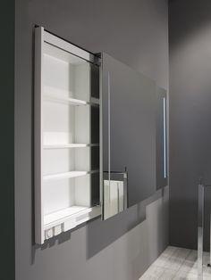 casabath inb. schuifdeur spiegelkast Mini Bad, Minimalist Interior, Bathroom Furniture, Bathroom Medicine Cabinet, Toilet, New Homes, Home And Garden, Flooring, Cool Stuff