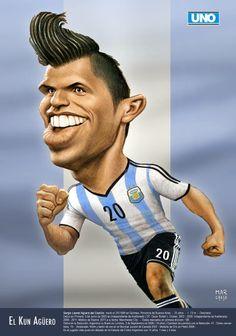KUN AGÜERO WC 2014 #ARGENTINA