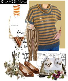 """You can never run out of style with Stripes"" by iamabhishiktar on Polyvore"