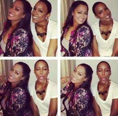 Kelly Rowland BC'd @Soyini Matthews @Shackheil Simmons OMG!