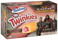 New Flavored Twinkies are X-Men Adventure-Themed