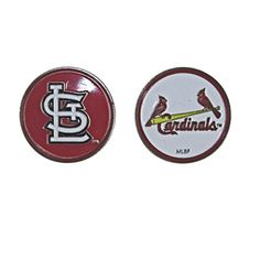5789d6a05ef Amazon.com   St. Louis Cardinals Double Sided Golf Ball Marker Only   Golf  Accessories   Sports   Outdoors
