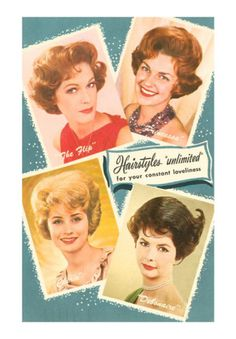 60's Hairstyle Card