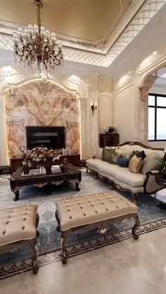 Mansion Interior, Dream House Interior, Luxury Homes Interior, Mansion Bedroom, Modern Luxury Bedroom, Luxury Living, Luxurious Bedrooms, Home Room Design, Interior Design Living Room