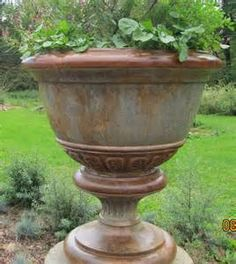 Tall Urn Planters   Yahoo Image Search Results