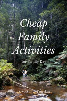 Cheap Family Activities for Family Day