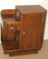 1930 S Art Deco Furniture This Piece Has Soft Edges And The Simplicity That Would Be