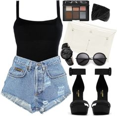 """Black orchid"" by brookellemckenzie ❤ liked on Polyvore"