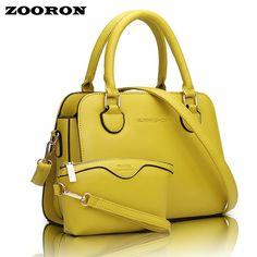 2016 Han Edition composite bag In Spring/Summer New PU leather Handbag Shoulder Bales Elegant Lady handbag women messenger bags