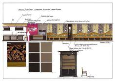 elevation and details - Hans Kuijten - Restaurant De Carrrousel Eindhoven