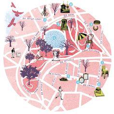 Paris map - Tonwen Jones