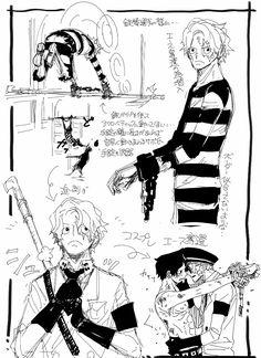 Short One Piece, One Piece Crew, One Piece Funny, Ace Sabo Luffy, Fan Anime, One Piece Pictures, 0ne Piece, Cartoon Boy, Monkey D Luffy