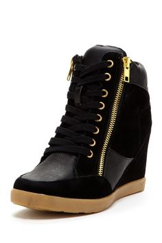 Aura Wedge Sneaker by Steve Madden on @HauteLook