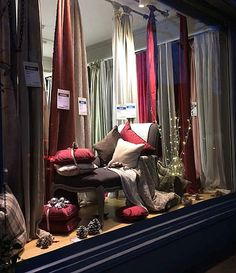Our festive window in our Fulham Showroom! Free refeshments all day Saturday 6th Dec! http://www.pretavivre.com/news/festive-windows