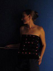 DIY wearable LED top