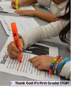 Close Reading in First Grade - Susan Jones Teaching Reading Lessons, Reading Skills, Teaching Reading, Guided Reading, Teaching Ideas, Shared Reading, Reading Groups, Teaching First Grade, First Grade Classroom