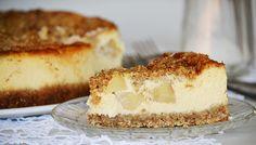 Jóság felsőfokon: Apple Crumble Cheesecake - Moksha.hu Cheesecake Recipes, Apple, Food, Apple Fruit, Essen, Meals, Yemek, Apples, Eten