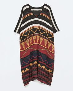 Image 7 of LONG PONCHO from Zara