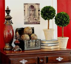 Preserved Boxwood Single Ball Topiary - 16 Inch