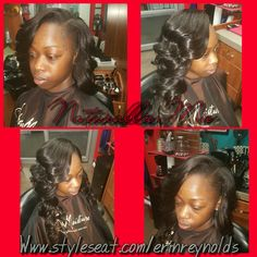 Sew-in with Leave Out Contact Erin Pippen  Www.styleseat.com/erinreynolds