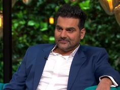 On 'Koffee With Karan Arbaaz Khan agreed that he already has an alternative. Koffee With Karan, Arbaaz Khan, Gossip, Bubble, Bollywood, Alternative, Suit Jacket, Breast, Dating