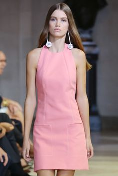 Carolina Herrera - New York Fashion Week / Spring 2016 Model: Luna Bijl