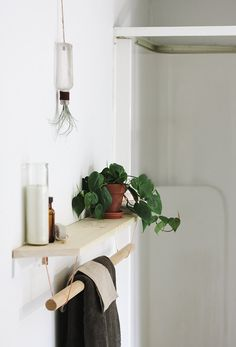 Make This Copper & Wood Bath Shelf in 20 Minutes — The Merrythought