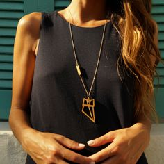 athena necklace // wooden pendant - Athena, Goddess of Wisdom and War, has been identified with intelligence and vehemence. Keep the intelligent and dominant look of an owl, Athena's sacred bird! Athena Goddess, Owl, Gold Necklace, Pendant, Abundance, Wisdom, Bird, Accessories, Jewelry