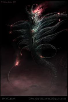 RPG Creatures - a free online Bestiary: Possessed by Unholy Fire