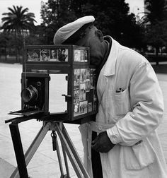 Athens street photographer 1960, by Wolfgang Suschitzky