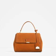 LEATHER CITY BAG-Hand bags-BAGS-WOMAN | ZARA United States
