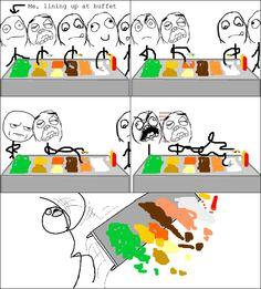 Buffet Rage