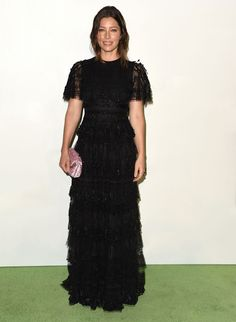 Jessica Biel  Design: Valentino