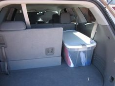 For a long road trip, use bins for clothing storage.  Rotate fresh clothing every couple of days into luggage.