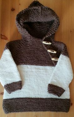 Hand knitted hooded sweater in brown and white wool and alpaca. by Ebooksandhandmade on Etsy Hooded Sweater, Men Sweater, Winter Is Coming, Mittens, Hand Knitting, Cowl, Hoods, Turtle Neck, Pullover