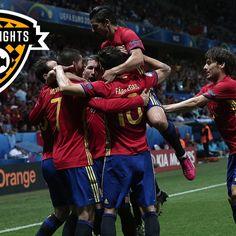 Highlights: Spain 3-0 Turkey
