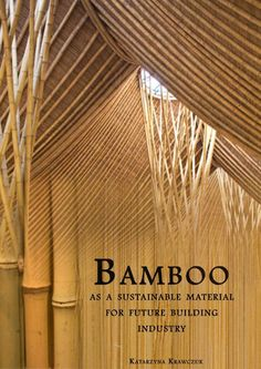 Report : BAMBOO - As a Sustainable Material for Future Building Industry.