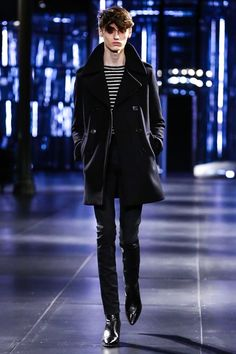 Saint Laurent Mens F/W 2015.16 Paris. nowfashion.com