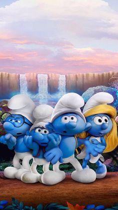 Smurfs the Lost Village Cartoon Wallpaper, Cute Disney Wallpaper, Iphone Wallpaper, Cartoon Art, Cartoon Characters, Cartoon Illustrations, Disney Movies, Disney Pixar, Smurfette