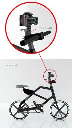 tripod bike inspired by the camera tripod by reza rachmat sumirat