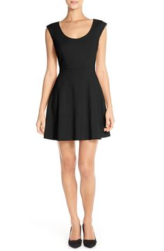4a29243a58 French Connection Whisper Light Fit   Flare Dress